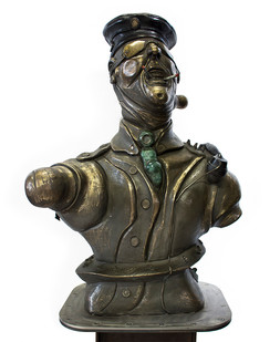 David Brown | The Soldier | 2013-2015 | Bronze | 180 cm | Edition of 3 + 2 AP