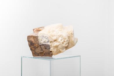 Ruann Coleman | Auto Correct Study | 2017 | Polyurethane and Rock | 20 x 33 cm