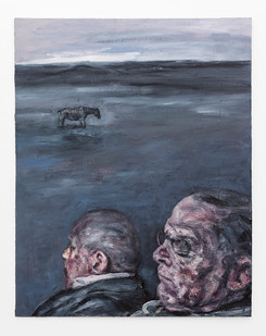 Johann Louw   Argewaan   2019   Oil on Board   122.5 x 96.5 cm