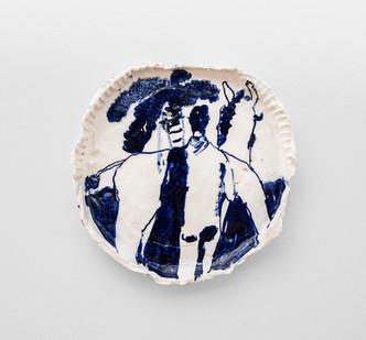 Michael Taylor | Pals | 2016 | Ceramic | 35 x 35 x 4 cm