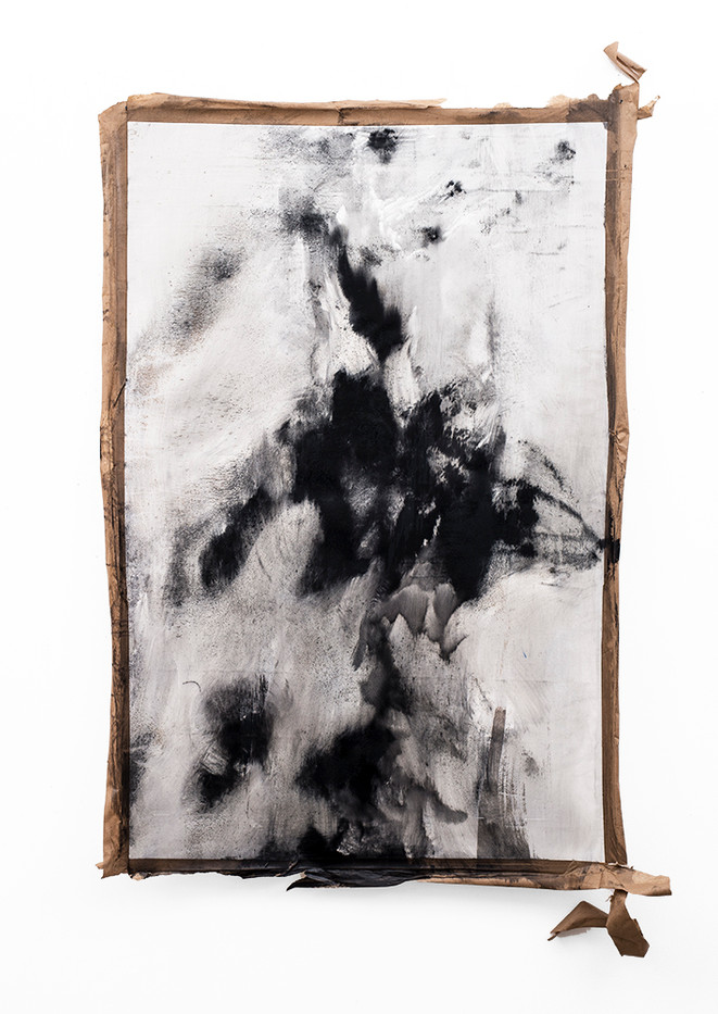 Alexandra Karakashian | Conditions Towards VI | 2019 | Oil on Canvas | 155 x 102.5 cm