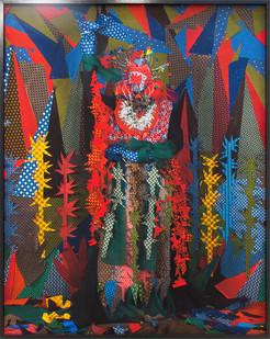 Siwa Mgoboza | Les Etres DAfricadia V Libertina La Reina | 2016 | Photographic Print on Epson Hot Press Natural Paper | 183 x 146 cm