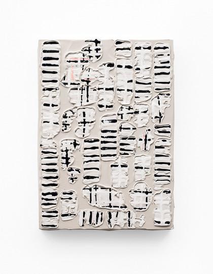 Gabrielle Kruger   Unpack I   2020   Acrylic on Board   42 x 30 cm