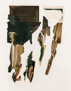 Kate Gottgens   Fall   2020   Collage on Paper   100 x 71 cm