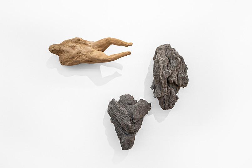 Ledelle Moe | Drift | 2020 | Clay and Concrete | Dimensions Variable