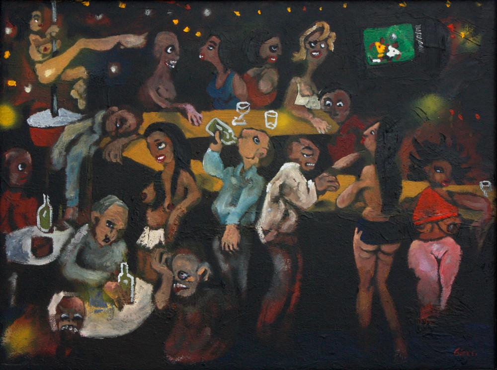 Karl Gietl   The Royal Part II   2003   Oil on Board   45 x 60 cm