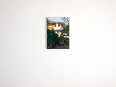 Albert Samson   Caselle   2015   Enamel on Canvas   35 x 25 cm