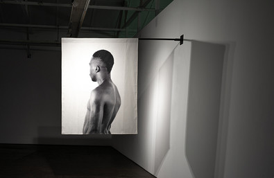 Musa N. Nxumalo | Story of O.J., After 4:44 | (Doctor Moyo I) | 2020 | Archival Pigment Print on Hemp Linen | 160 x 130 cm | Edition of 3 + 2 AP