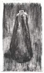 Johann Louw   Groot Mantel   2016   Charcoal on Paper   210 x 130 cm