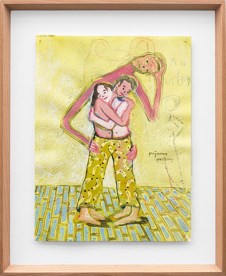 Marlene Steyn   Pajama Panting   2018   Oil on Canvas   30 x 23 cm