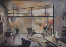 Kate Gottgens | Bulawayo 1967, No 1 | 2012 | Oil on Canvas | 61 x 84 cm
