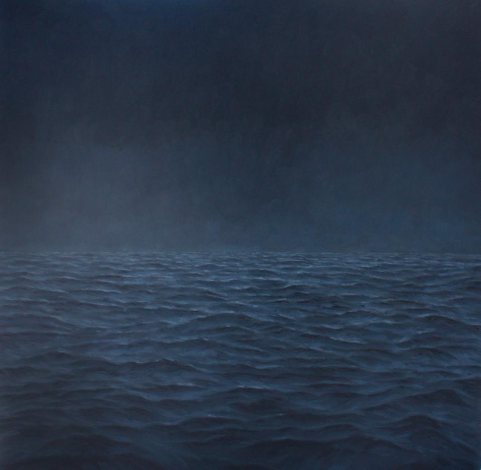 Jake Aikman   Midnight I   2012   Oil on Canvas   170 x 170 cm