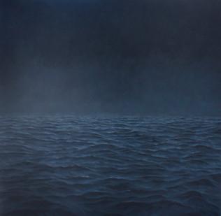 Jake Aikman | Midnight I | 2012 | Oil on Canvas | 170 x 170 cm