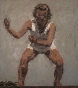 Anton Karstel | Fig. 446 (c) |  2005 | Oil on Canvas | 57 x 50.5 cm