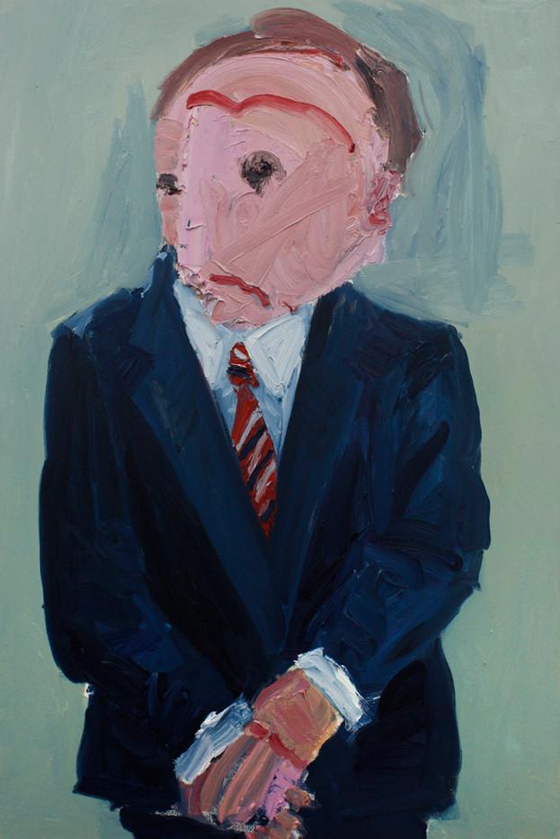 Georgina Gratrix | CEO | 2014 | Oil on Canvas | 120 x 80 cm