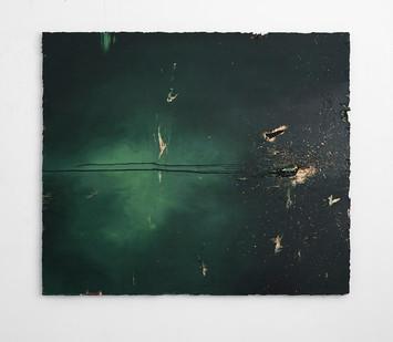 Jake Aikman | Dancers | 2017 | Oil on Board | 112 x 131 cm