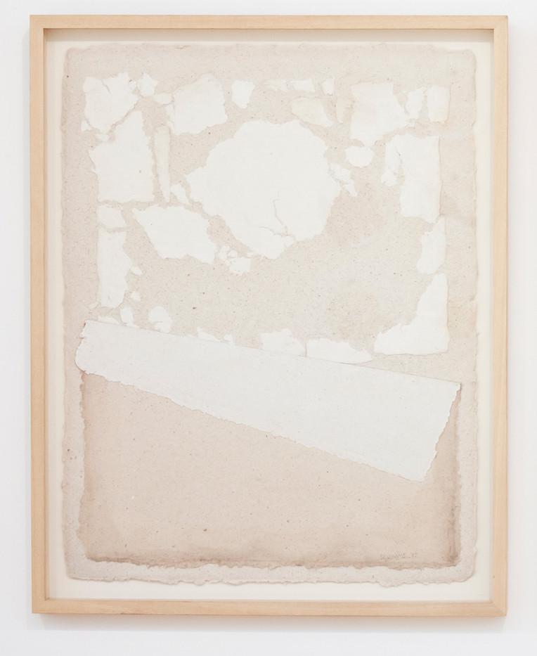 Fred Schimmel | Untitled | 1987 | Imprinted Handmade Paper | 64 x 50 cm
