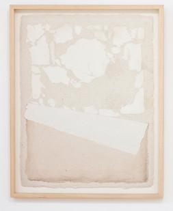 Fred Schimmel   Untitled   1987   Imprinted Handmade Paper   64 x 50 cm