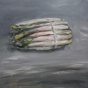 Johann Louw | Aspersies (in grys) | 2012 | Oil on Plywood | 40 x 40 cm