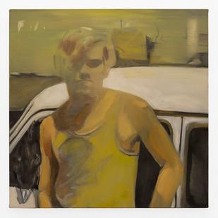 Kate Gottgens | The Distance #8 | 2019 | Oil on Canvas | 68.5 x 68.5 cm