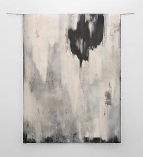 Alexandra Karakashian | Beneath II | 2017 | Oil on Sized Paper | 190 x 140 cm