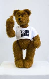 Ed Young | Buttercup | 2015 | South African Mohair Traditional Teddy Bear | 62 cm | Edition of 3 + 1 AP