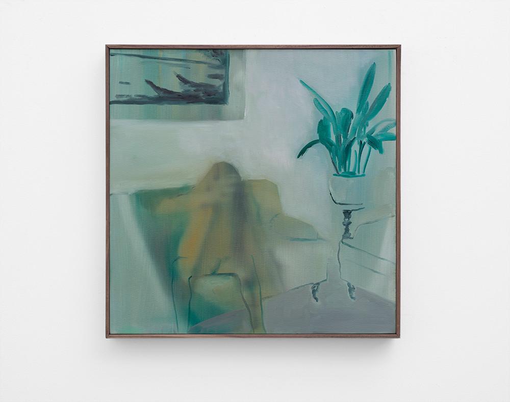 Kate Gottgens   Stolen   2017   Oil on Canvas   60 x 60 cm