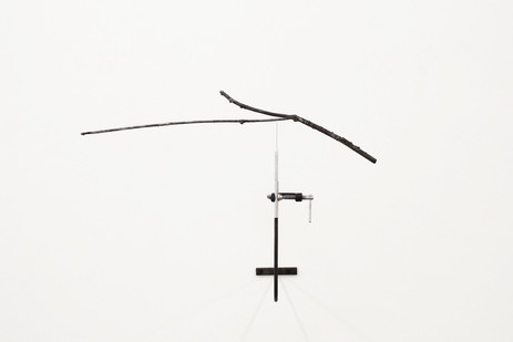 Ruann Coleman | Twig | 2013 | Steell, G-Clamp and All Point Screwdriver | 40 x 50 x 55 cm