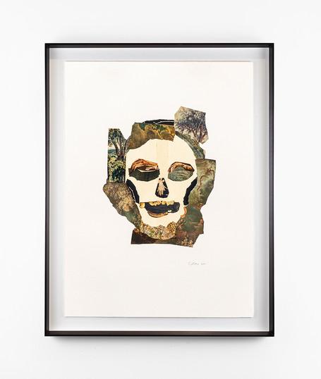 Kate Gottgens | Vanitas 8 (Death of Nature) | 2020 | Collage on Paper | 76 x 56 cm