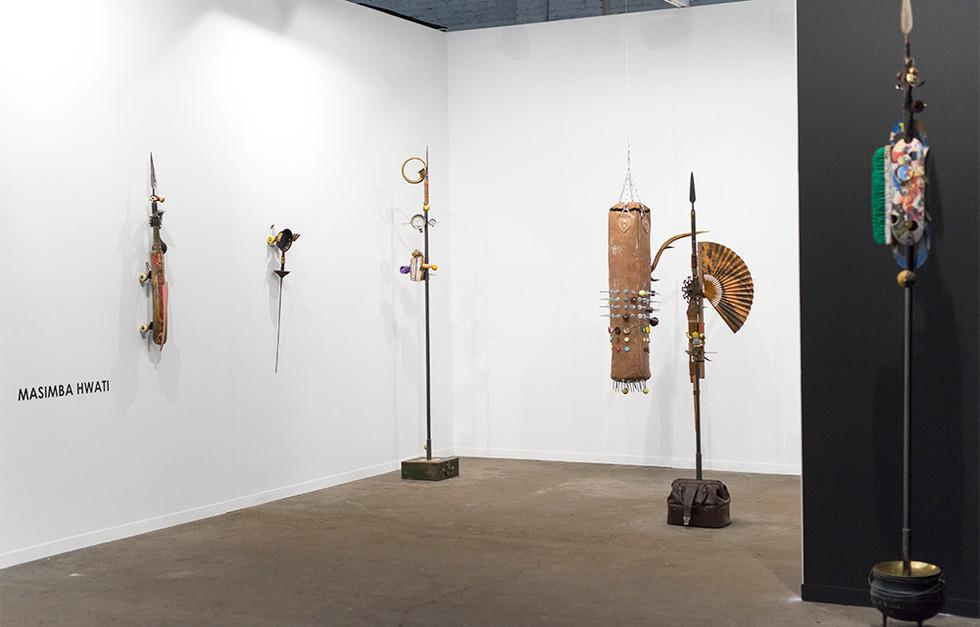 Masimba Hwati | Art Brussels | 2017 | Installation View