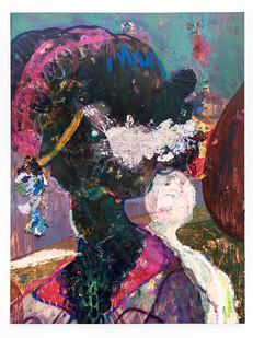 Mostaff Muchuwaya   Tinaye   2019   Acrylic and Ink on Canvas   179.5 x 148 cm