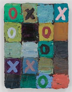 Georgina Gratrix | Hugs and Kisses | 2015 | Oil on Board | 41 x 30.5 cm