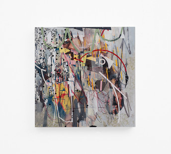 Asha Zero | v5cml | 2018 | Acrylic on Board | 45 x 45 cm