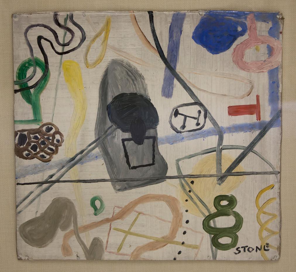 Simon Stone | Popular Mechanics | 2014 | Oil on Cardboard | 31 x 32 cm