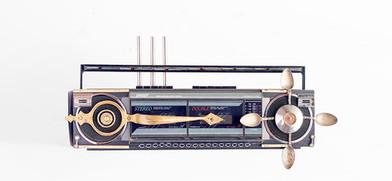 Cyrus Kabiru | Gauge | 2020 | Steel and Found Objects | 30 x 40 x 15 cm