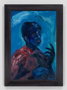 Albert Adams | Self-Portrait | c. 1959 | Oil on Canvas | 107 x 77 cm