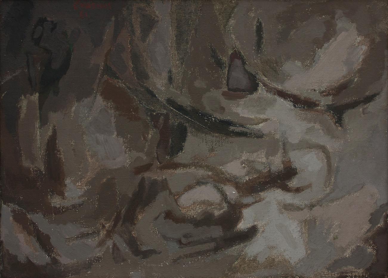 Nel Erasmus | Untitled | 1961 | Oil on Canvas | 33.5 x 46.5 cm