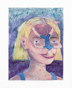 Marlene Steyn   Puberties almost thirties   2018   Oil on Canvas   30.5 x 23 cm