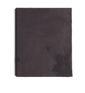 Alexandra Karakashian | Purge (Sketch II) | 2016 | Black Pigment on Canvas | 25.5 x 21 cm
