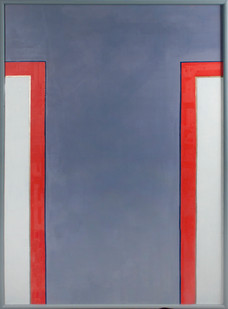 Helen A Pritchard   Untitled - Carrier 3   2013   Oil and Pigment on Canvas   140 x 100 cm