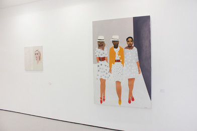 PAINT I: Contemporary South African Painting 2002 – 2012 | 2012 | Installation View