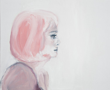 Luiza Cachalia | my name is jane | 2013 | Oil on Board | 25 x 30.5 cm