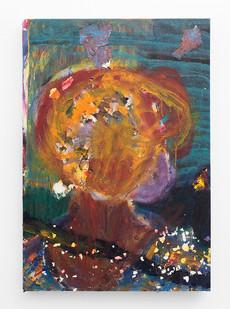 Mostaff Muchawaya | Untitled | 2018 | Acrylic on Canvas | 79 x 55.5 cm