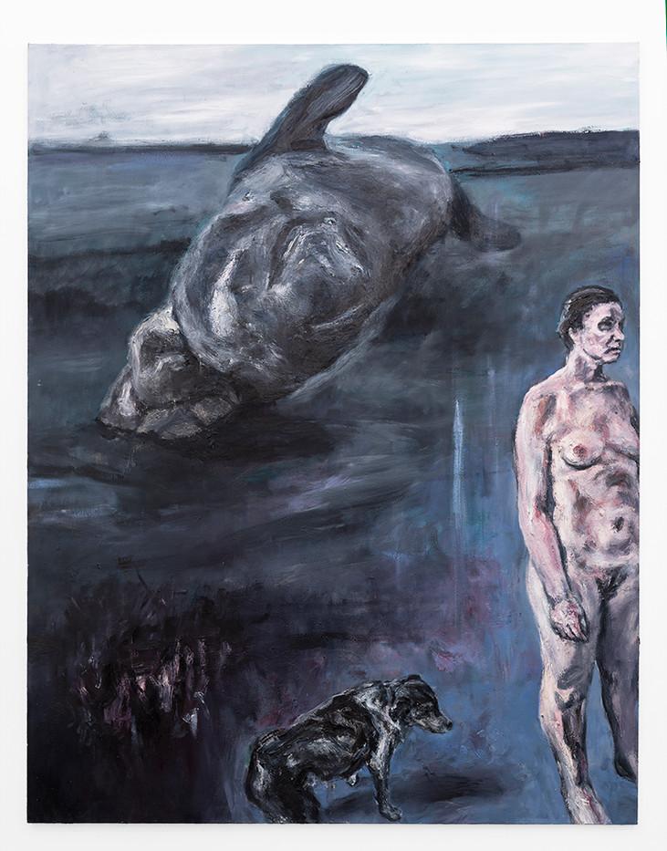 Johann Louw   Et in terra   2019   Oil on Canvas   200 x 156 cm