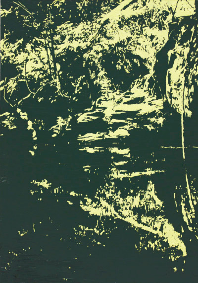 Peter Eastman | Deep Chine XXV | 2014 | Oil on Aluminium | 60 x 45 cm