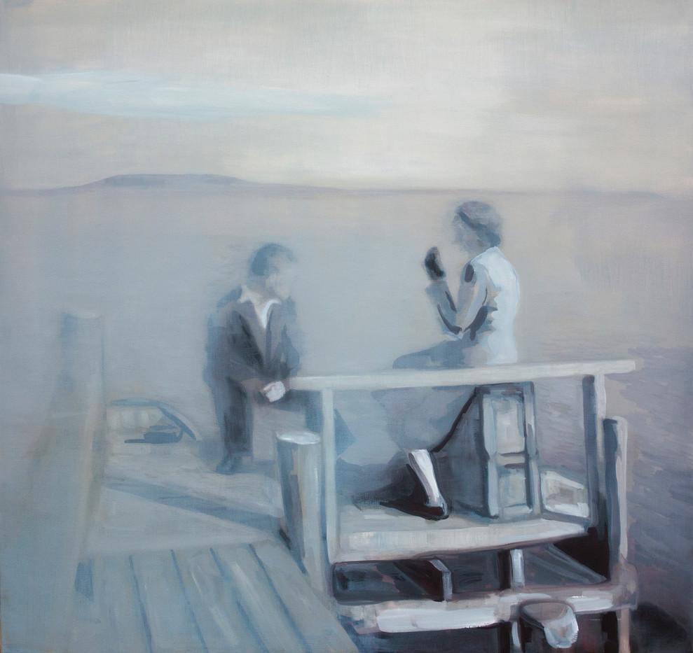 Kate Gottgens   War of Love II   2013   Oil on Canvas   77 x 80.5 cm