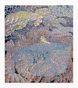 Marlene Steyn | losing my my | 2020 | Oil on Canvas | 90 x 80 cm