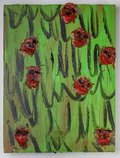 Georgina Gratrix | Irma's Muses | 2016 | Oil on Canvas | 40 x 30 cm