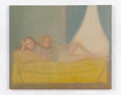 Chechu Álava | The last party | 2020 | Oil on Canvas | 60 x 73 cm