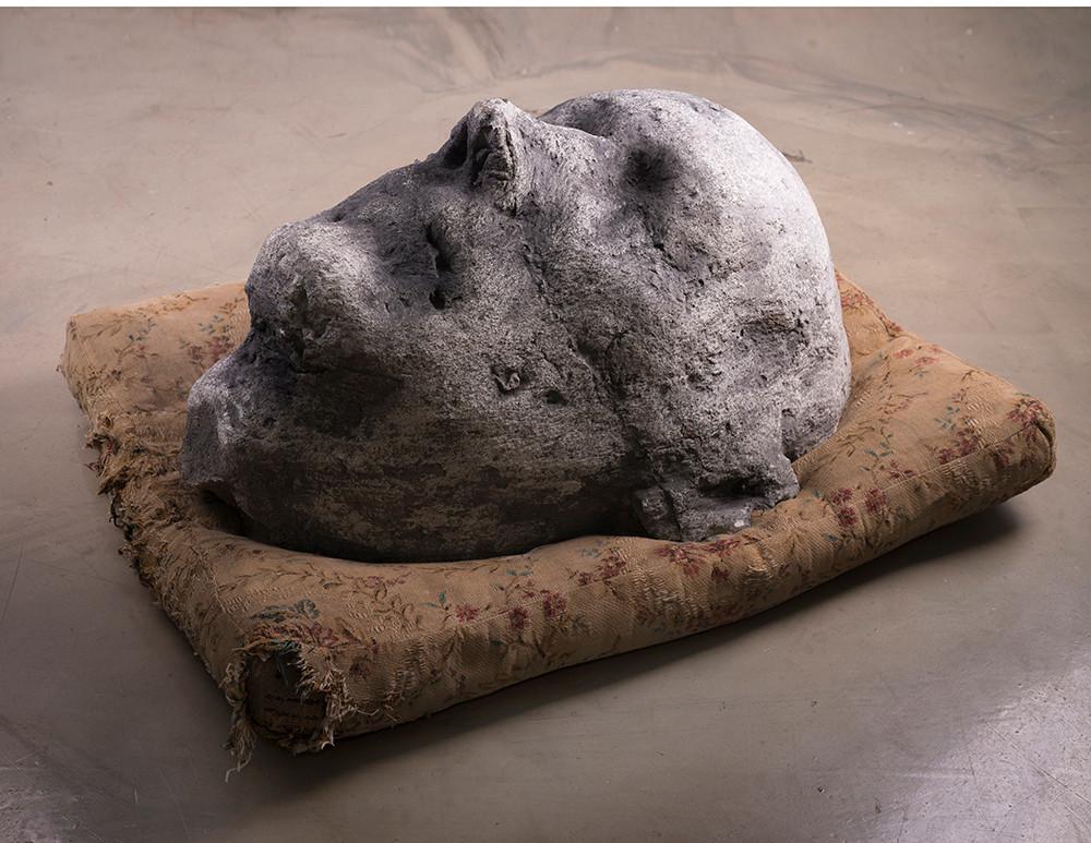 Johann Louw | Arkadia II | 2017 | Cement and Plaster | 70 x 51 x 40 cm